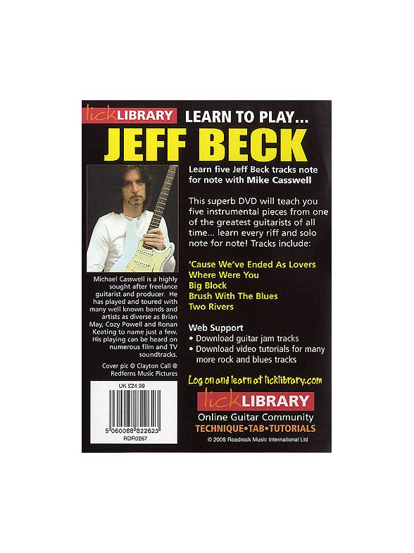 Jeff beck learn to play