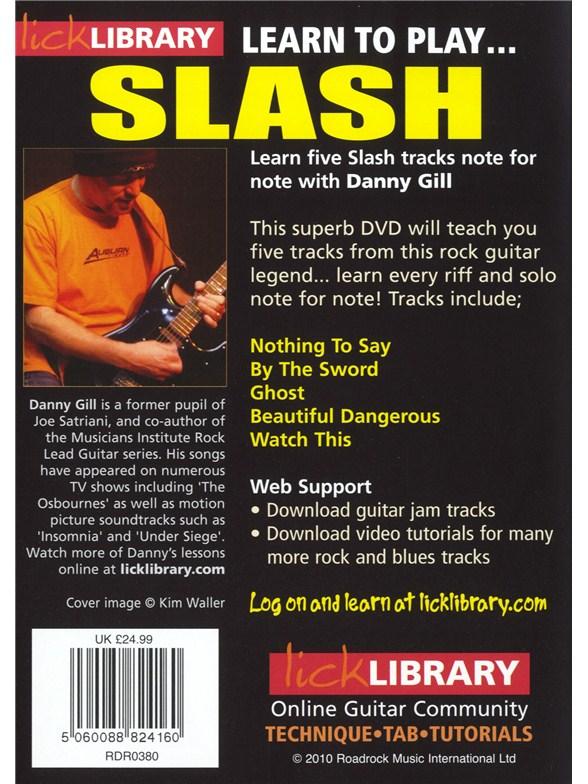Slash guitar lick