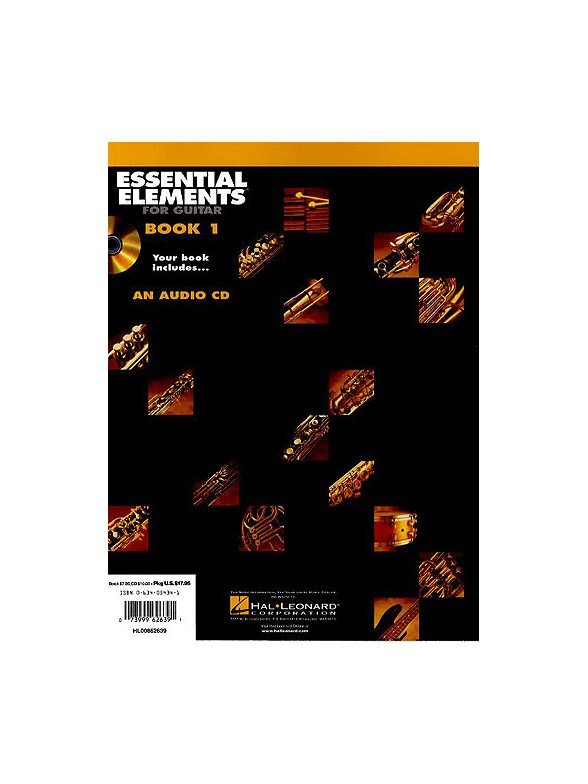 essential elements for guitar book 1 book online audio guitar books tuition. Black Bedroom Furniture Sets. Home Design Ideas