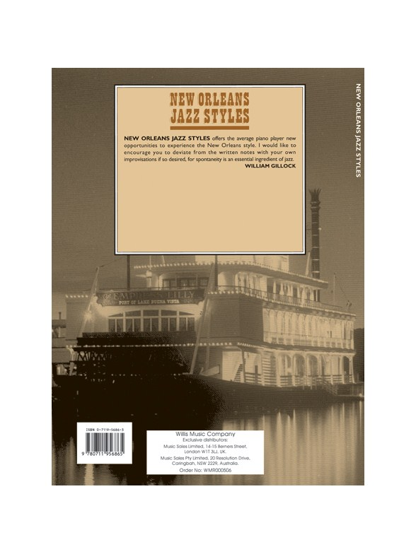New Orleans Jazz Styles Complete Edition Piano Sheet