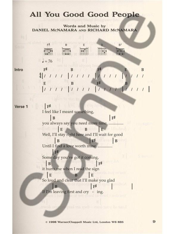 Essential Acoustic Playlist Lyrics Chords Sheet Music Sheet