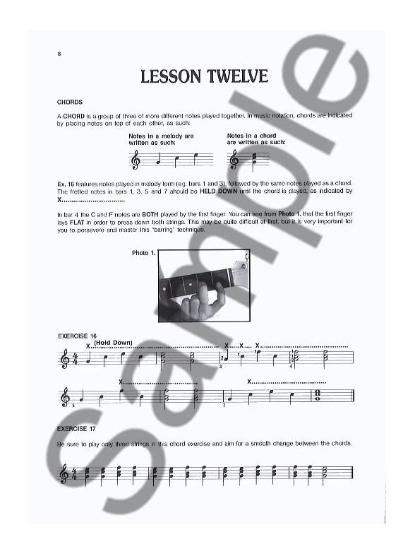 progressive guitar method  book 2 - guitar books