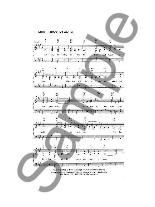 The Source 1 (Full Music) - Piano, Vocal & Guitar Sheet Music ...