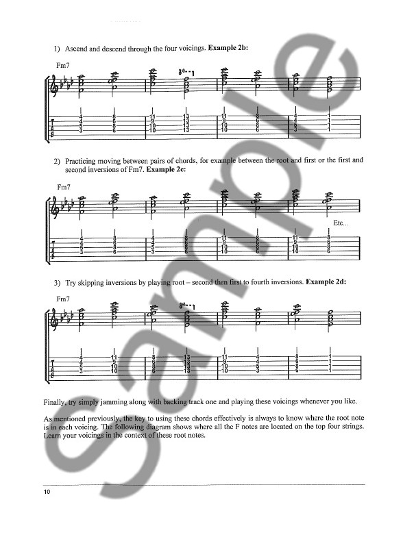 Joseph Alexander: Jazz Guitar Chord Mastery - Part 2 - Guitar Books ...