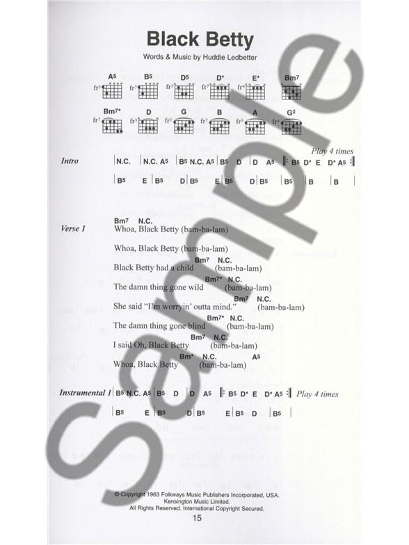 The Little Black Songbook The Blues Lyrics Chords Sheet Music