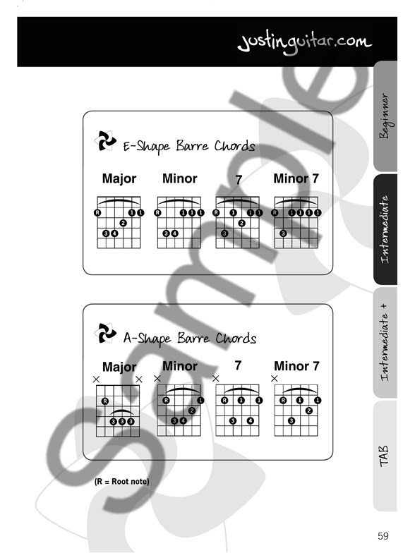 The Justinguitar.com Rock Songbook - Guitar Sheet Music - Sheet ...