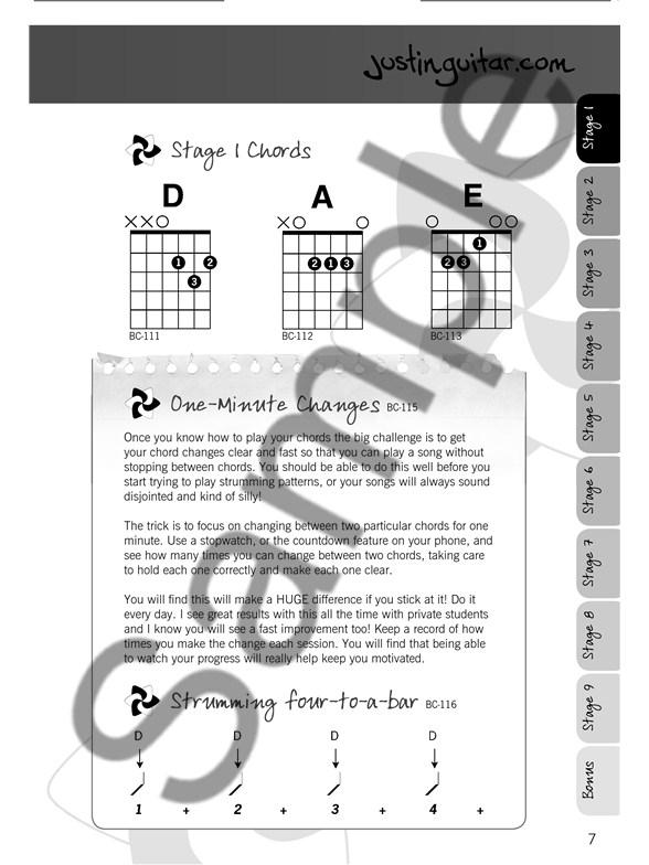 Justinguitar Beginners Songbook 2nd Edition Spiral Bound