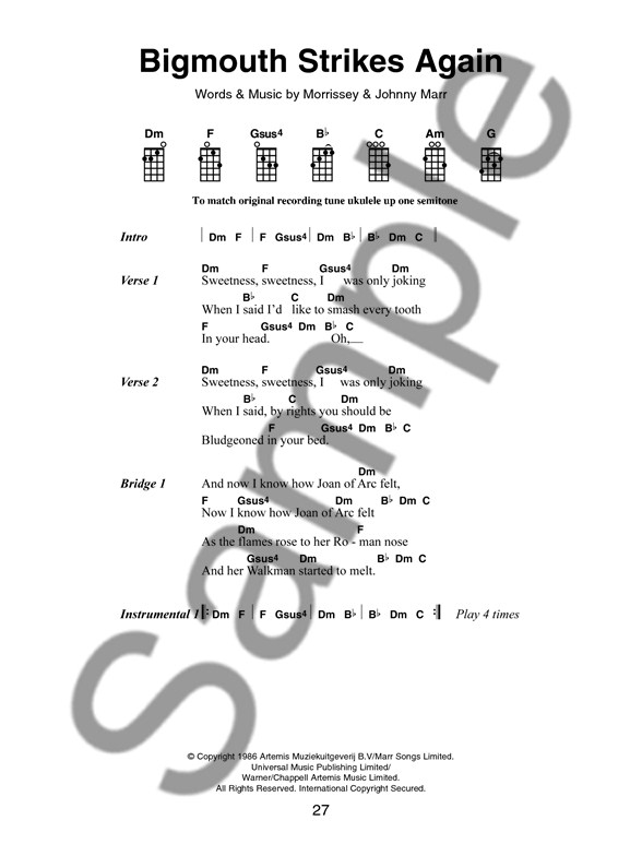 The Little Black Songbook: Great Songs For Ukulele - Ukulele Sheet ...