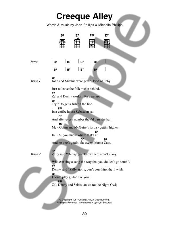 The Little Black Songbook Hit Songs For Ukulele Ukulele Sheet