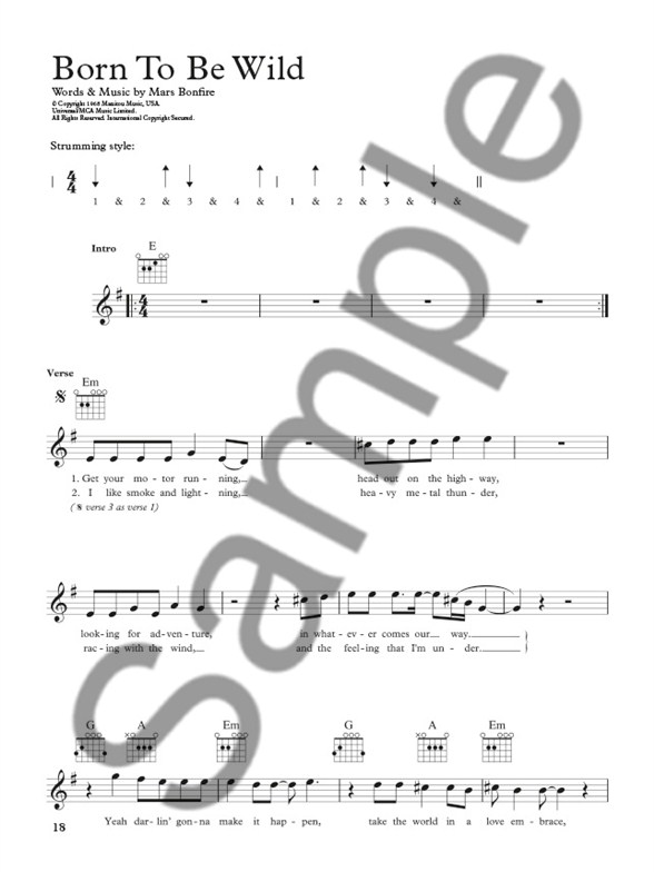 the complete guitar player  rock songbook - guitar sheet music