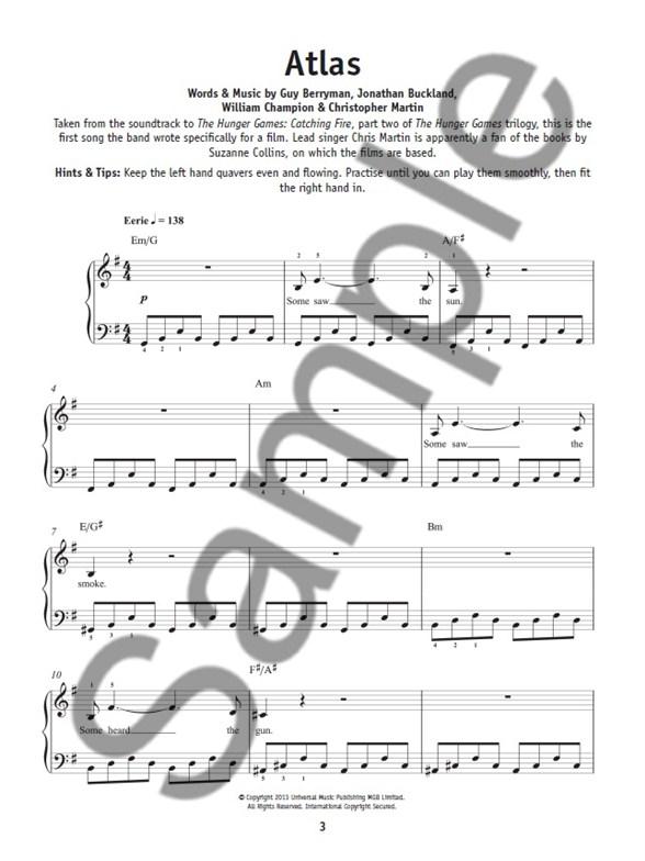 Really Easy Piano Coldplay Easy Piano Sheet Music Sheet Music