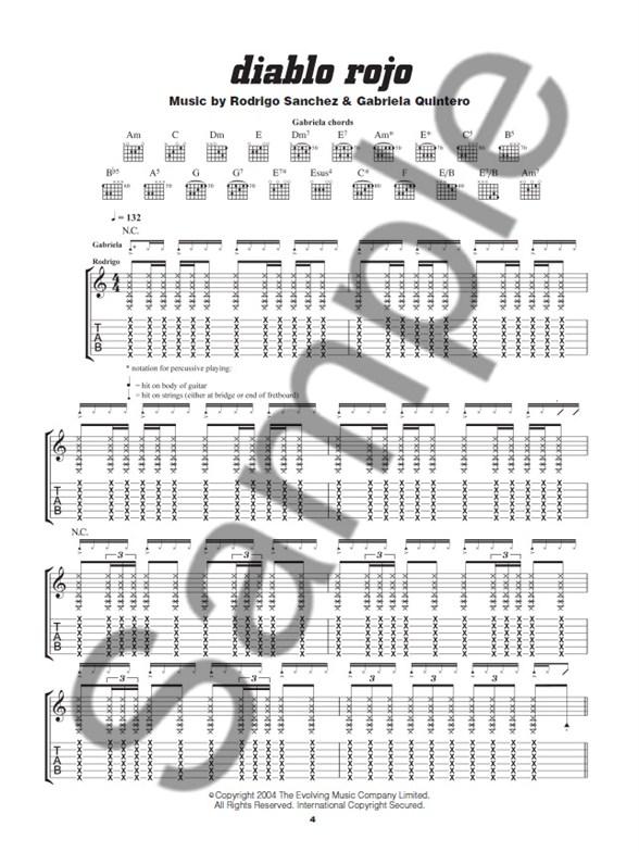 rodrigo y gabriela tab book pdf