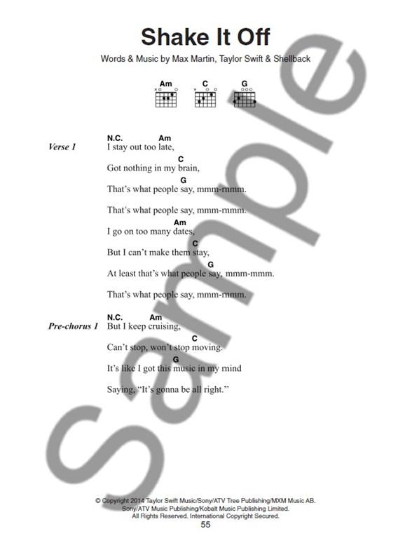 Hits Of The Year Guitar Chord Songbook - Guitar Sheet Music - Sheet ...