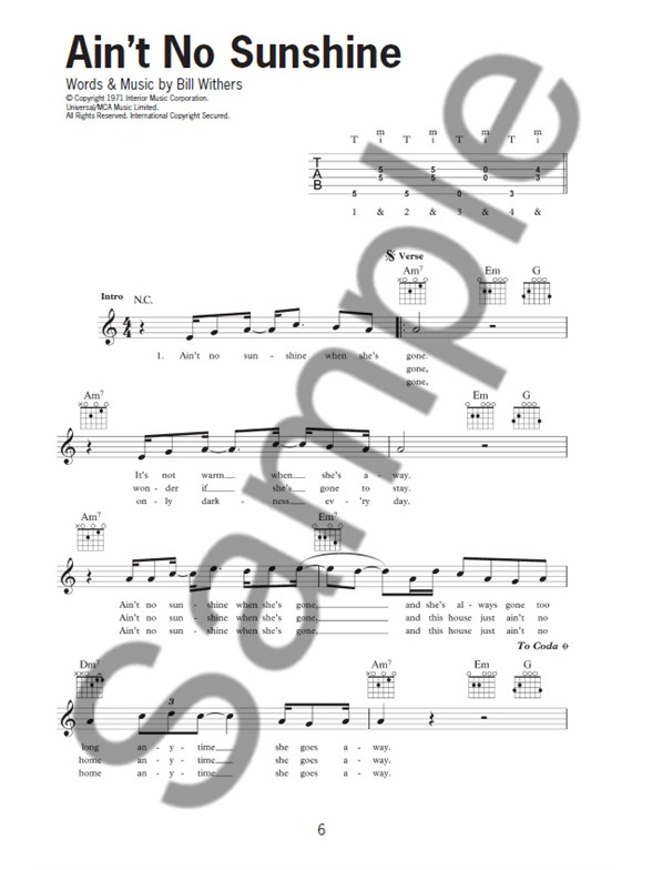 The Buskers Songbook - Guitar Sheet Music - Sheet Music & Songbooks ...