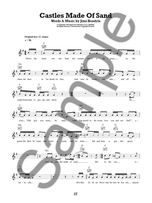 101 Songs For Easy Guitar Book 1 - Melody Line, Lyrics & Chords ...