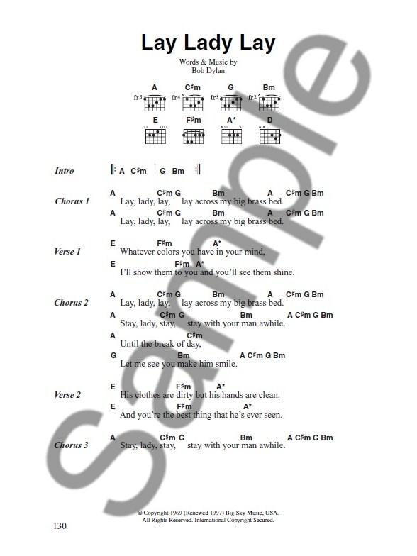The Big Acoustic Guitar Chord Songbook Love Songs Lyrics Chords