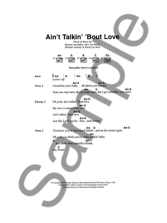 The Big Guitar Chord Songbook Classic Rock 2 Lyrics Chords