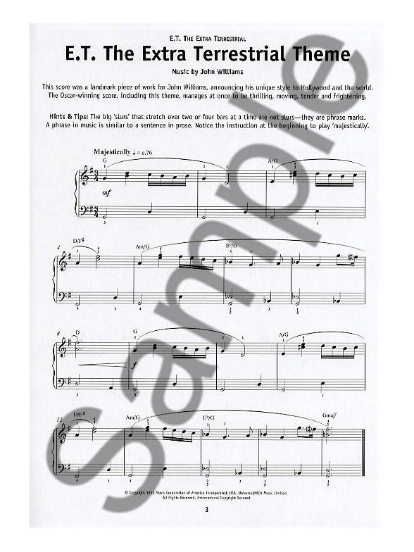 really easy piano film themes easy piano sheet music sheet