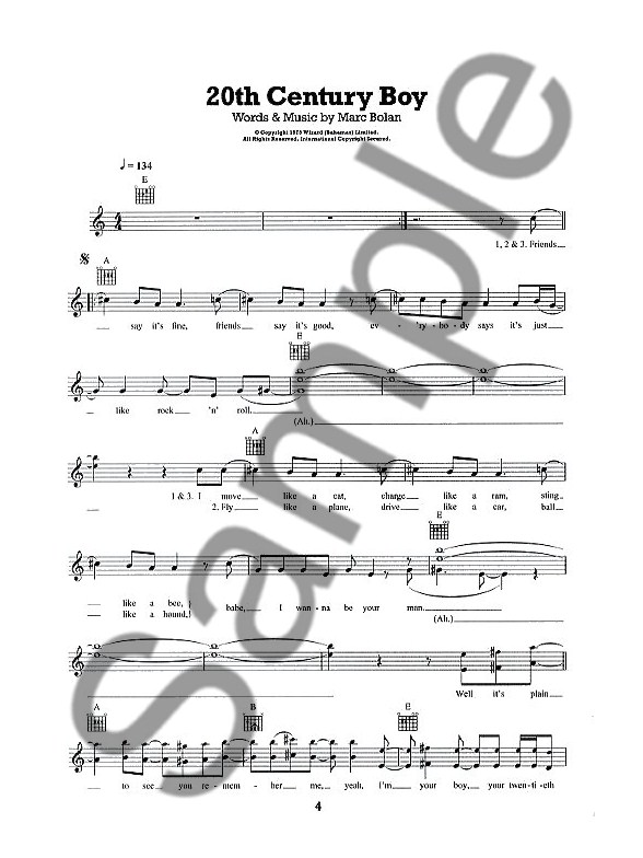 101 Songs For Easy Guitar: Book 5 - Guitar Sheet Music - Sheet Music ...