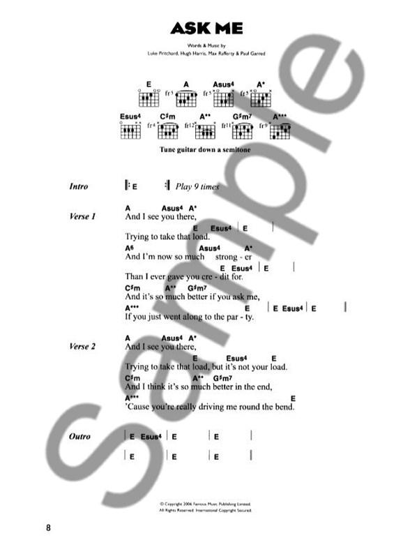 The Kooks: Inside In/Inside Out + Bonus Songs - Lyrics & Chords ...