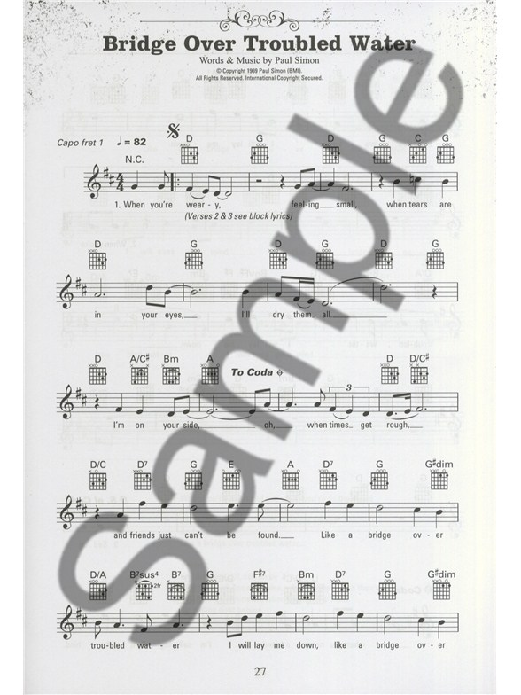 The Gig Book: Acoustic Hits - Melody Line, Lyrics & Chords Sheet ...