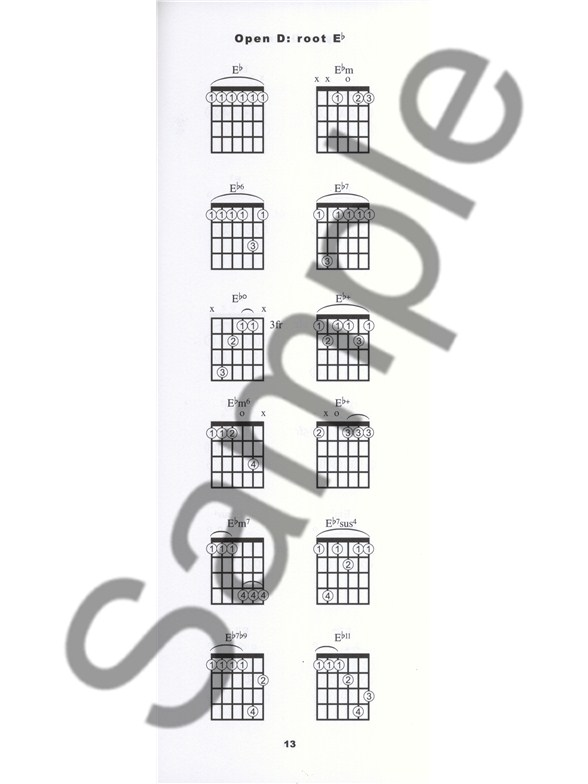 Brendan Gallagher The Open Tuning Chord Book For Guitar Guitar