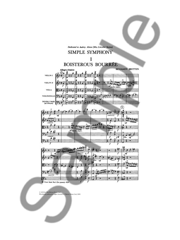Asturias orchestra score study