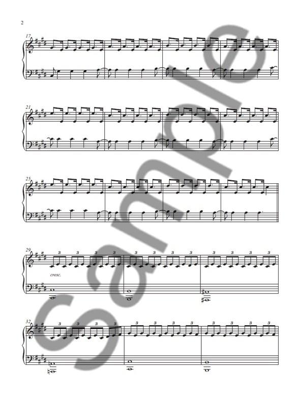 Ludovico Einaudi Fly Electronics Sheet Music Sheet