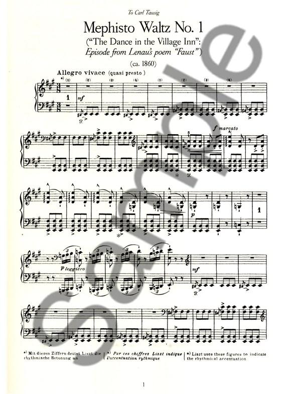 mephisto waltz sheet music pdf