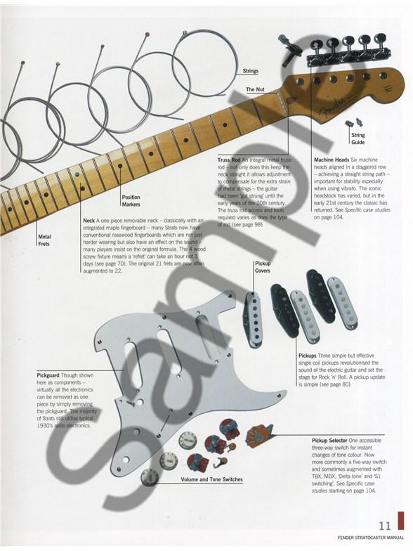 paul balmer haynes fender stratocaster manual 2nd edition books rh musicroom com 1961 Fender Stratocaster Fender Squier Stratocaster