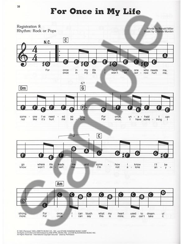 E Z Play Today 109 Motowns Greatest Hits Melody Line Lyrics