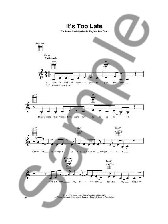 The Grammy Awards® Record Of The Year 1958-2011 - Ukulele - Lyrics ...