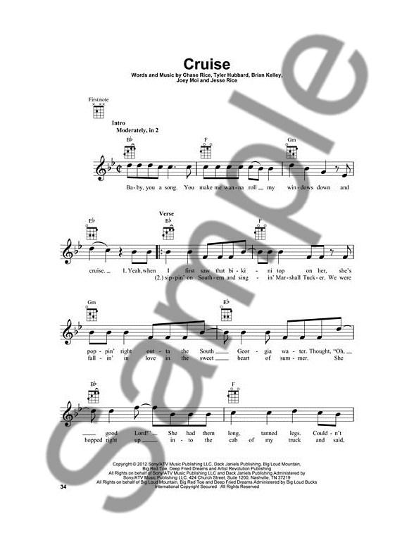 Country Hits For Ukulele 24 Favorites To Strum Sing Ukulele