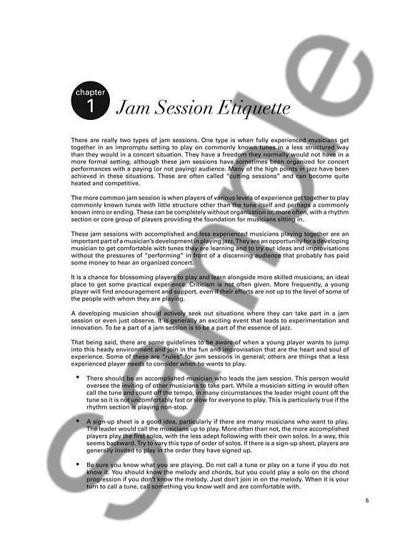 Jazz Session Trainer: The Woodshedder\'s Practice Kit – Eb Edition ...