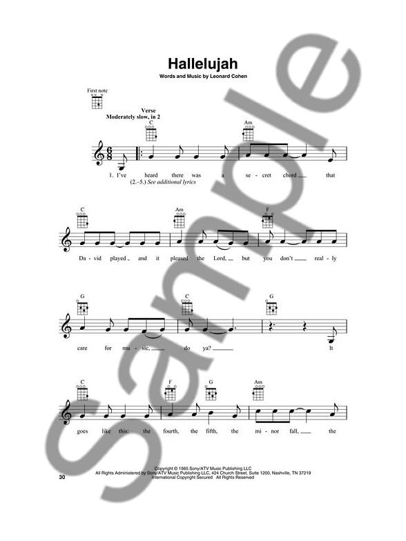 First 50 Songs You Should Play On Ukulele Ukulele Sheet Music
