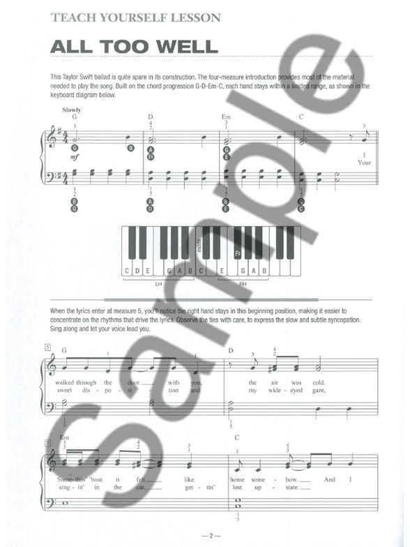 Teach Yourself To Play Piano Songs: A Thousand Years And 9 More ...