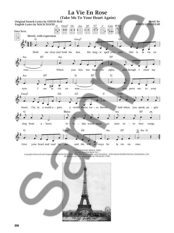 The Daily Ukulele Leap Year Edition Lyrics Chords Sheet Music