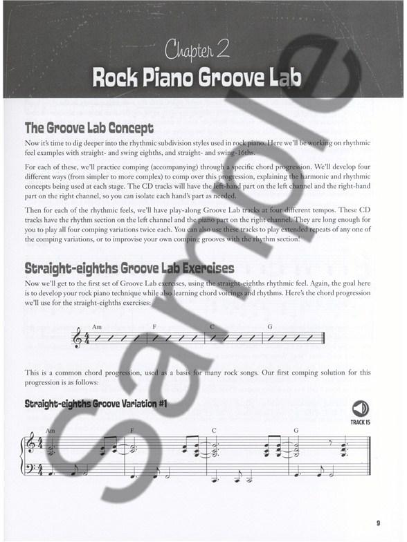 Mark Harrison Rock Piano Chops Piano Books Tuition Musicroom