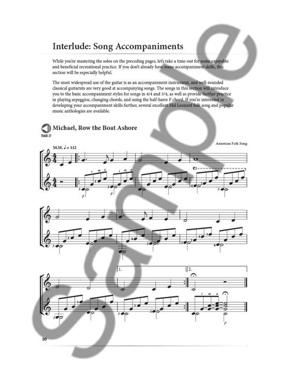 A Modern Approach To Classical Guitar: Book 2 (Livre/Download) Guitare Classique Livres