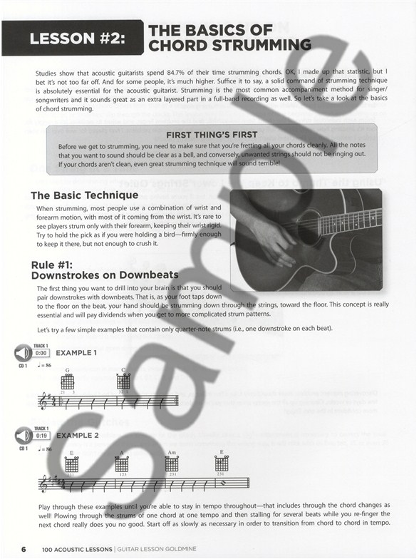 Chad Johnson/Michael Mueller: 100 Acoustic Lessons - Guitar Books ...