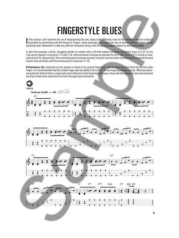 Hal Leonard Ukulele Method Blues Ukulele Bookonline Audio