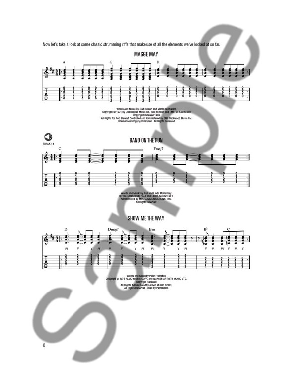 Hal Leonard Acoustic Guitar Method Bookonline Audio Guitar Tab