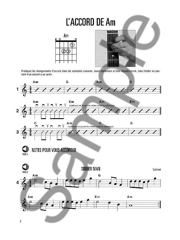 Hal Leonard Methode De Guitare Volume 2 (Deuxieme Edition Avec CD) Guitare Livres Méthodes