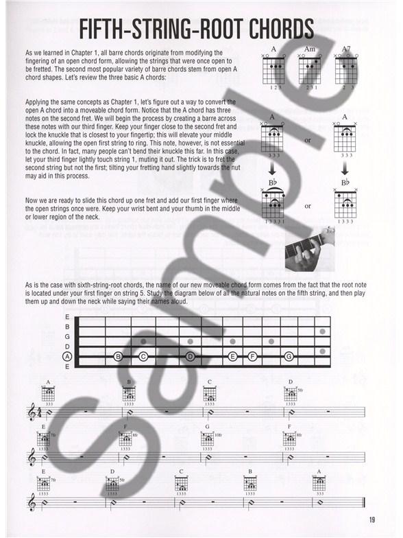 Hal Leonard Guitar Method Barre Chords Guitar Books Tuition
