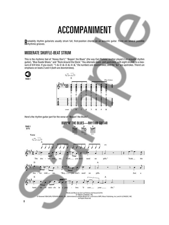 Fred Sokolow: Hal Leonard Rockabilly Guitar Method (Book/Online ...