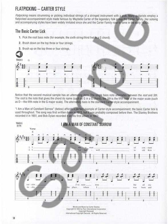Hal Leonard Folk Guitar Method - Guitar Books - Tuition   musicroom.com