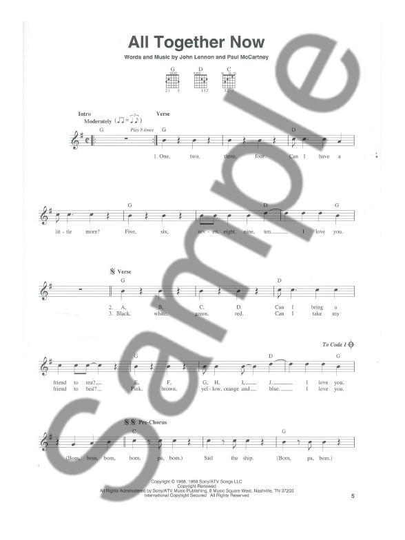The Guitar Three-Chord Songbook - Guitar Sheet Music - Sheet Music ...
