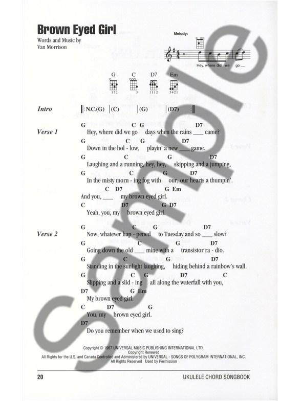 Ukulele Chord Songbook Island Songs Ukulele Sheet Music Sheet
