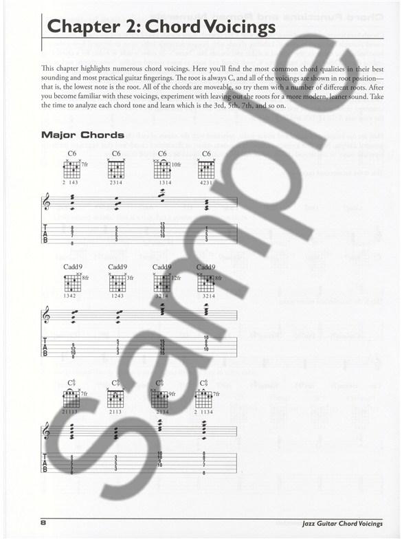 Arthur Rotfeld: Jazz Guitar Chord Voicings - Guitar Books - Tuition ...