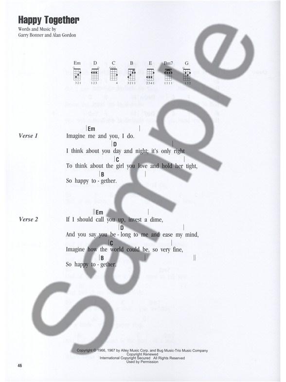 Ukulele Sing Along Songs Ukulele Sheet Music Sheet Music